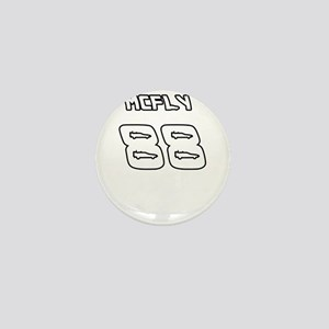McFly 88 Sports Number Mini Button
