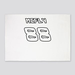McFly 88 Sports Number 5'x7'Area Rug