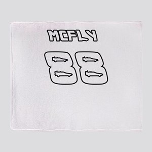 McFly 88 Sports Number Throw Blanket