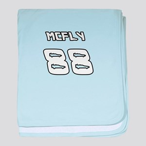 McFly 88 Sports Number baby blanket