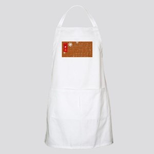 Christmas Paost Box Background Light Apron