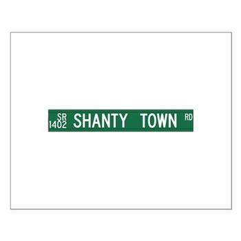 Shanty Town Road, Old Fort (NC) Small Poster