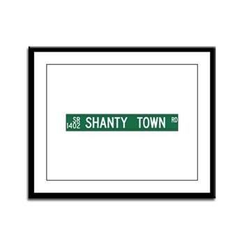 Shanty Town Road, Old Fort (NC) Framed Panel Print