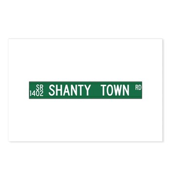 Shanty Town Road, Old Fort (NC) Postcards (Package