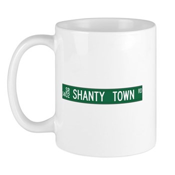 Shanty Town Road, Old Fort (NC) Mug