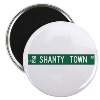 Shanty Town Road, Old Fort (NC) Magnet