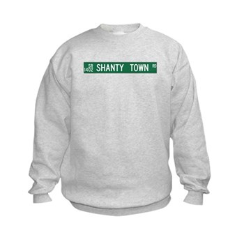 Shanty Town Road, Old Fort (NC) Kids Sweatshirt