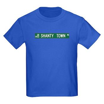 Shanty Town Road, Old Fort (NC) Kids Dark T-Shirt