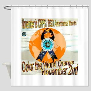 CRPS RSD Awareness Month November o Shower Curtain