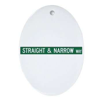Straight & Narrow Way, Hendersonville (NC) Ornamen