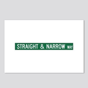 Straight & Narrow Way, Hendersonville (NC) Postcar