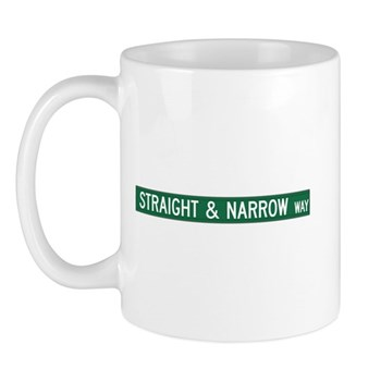 Straight & Narrow Way, Hendersonville (NC) Mug