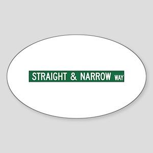 Straight & Narrow Way, Hendersonville (NC) Sticker