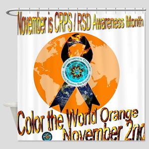 CRPS RSD Awareness Month November Shower Curtain