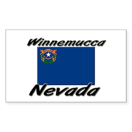 Winnemucca Nevada Rectangle Sticker