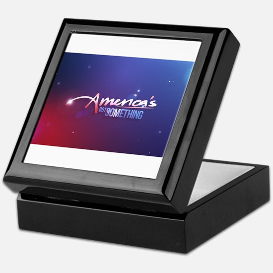 America's Got Something Color Logo Keepsake Box