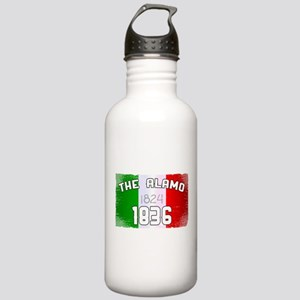 Alamo Flag and Date Stainless Water Bottle 1.0L