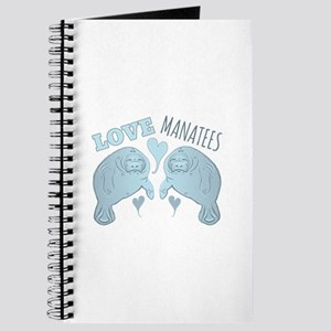 Love Manatees Journal