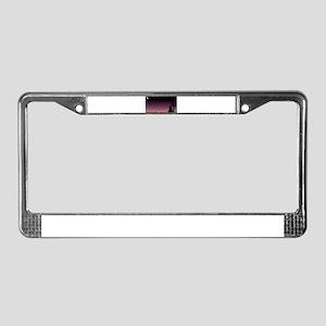 Texas Dark Sky License Plate Frame