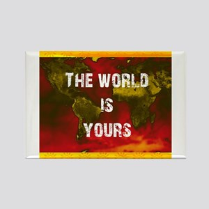 The World Is Yours Magnets