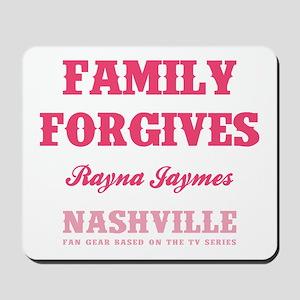 FAMILY FORGIVES Mousepad