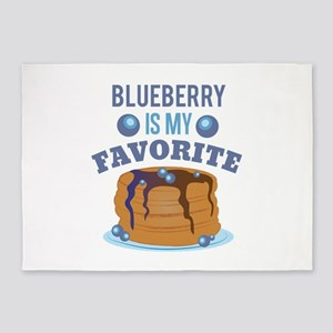 Blueberry Favorite 5'x7'Area Rug