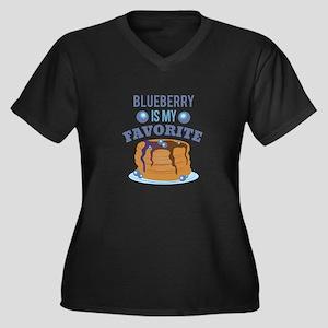 Blueberry Favorite Plus Size T-Shirt