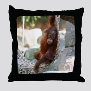 OrangUtan20151003 Throw Pillow