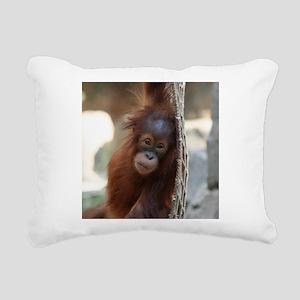 OrangUtan20151004 Rectangular Canvas Pillow