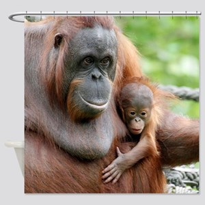 OrangUtan20151006 Shower Curtain