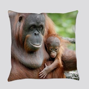 OrangUtan20151006 Everyday Pillow