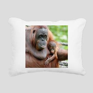 OrangUtan20151006 Rectangular Canvas Pillow