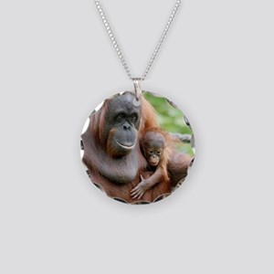 OrangUtan20151006 Necklace Circle Charm