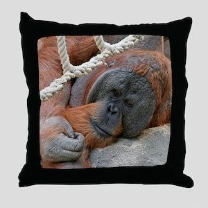 OrangUtan20151007 Throw Pillow
