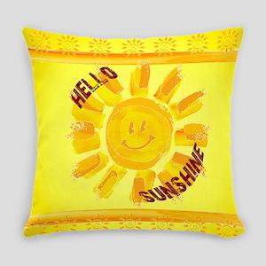 hello sunshine Everyday Pillow