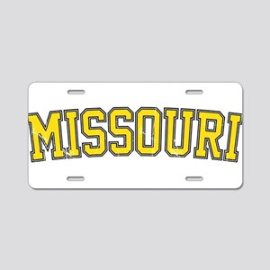 Missouri - Jersey Vintage Aluminum License Plate