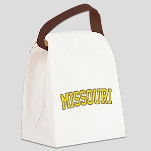 Missouri - Jersey Vintage Canvas Lunch Bag