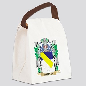 Charley Coat of Arms - Family Cre Canvas Lunch Bag