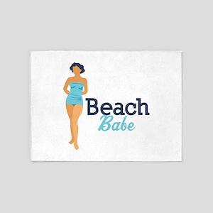 Beach Babe 5'x7'Area Rug