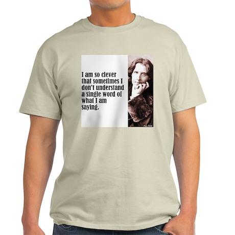 "Wilde ""So Clever"" Light T-Shirt"
