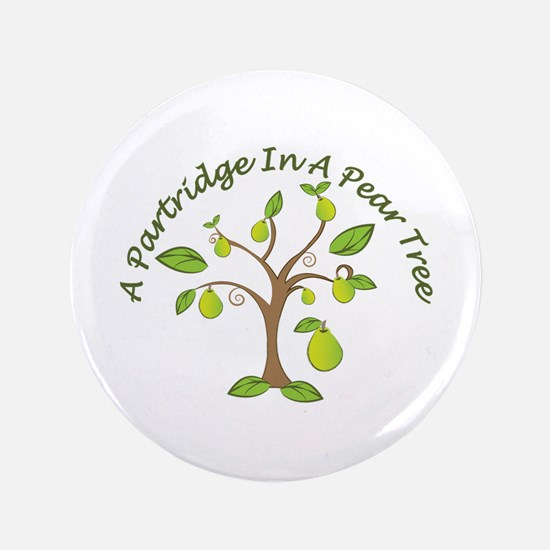 In Pear Tree Button