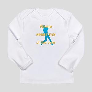 Funny Baseball Sport Long Sleeve Infant T-Shirt