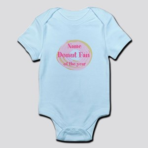 Funny Donut Infant Bodysuit