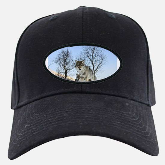 Pack Of Wolves During Winter Baseball Cap