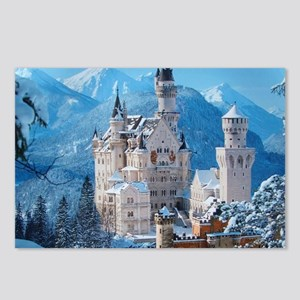 Castle In The Winter Postcards (Package of 8)