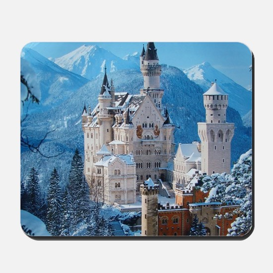Castle In The Winter Mousepad