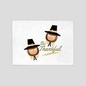 Be Thankful 5'x7'Area Rug