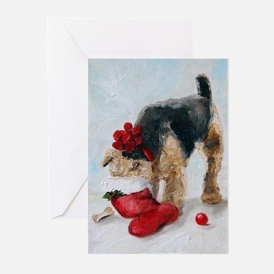 Cute Welsh terrier Greeting Cards (Pk of 20)