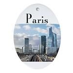 Paris Oval Ornament