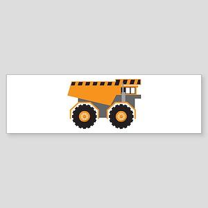 Dump Truck Bumper Sticker